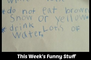 This Week's Funny Stuff