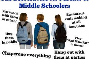 The Best Advice for Parents of Middle Schoolers