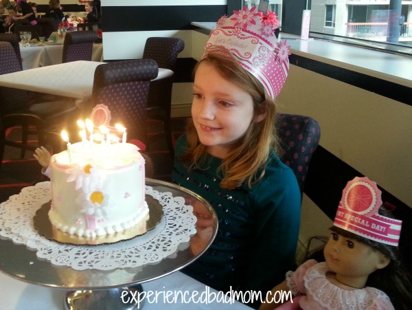 American Girl Cafe Birthday