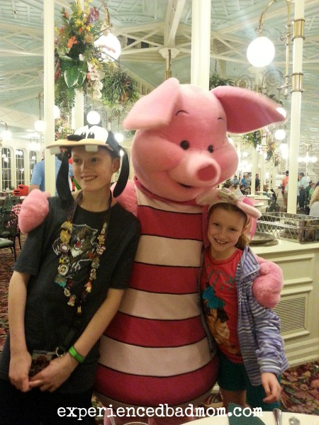 Piglet made my tween smile