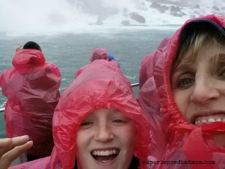 How to chaperone the Niagara Falls boat tour - don't fall off!