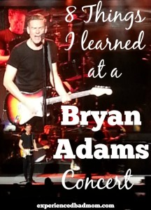 8 Things I Learned at a Bryan Adams Concert