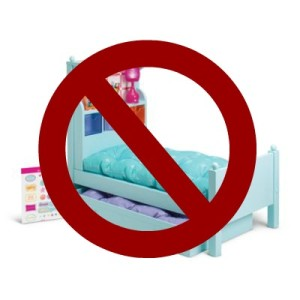 No more American Girl beds for sale