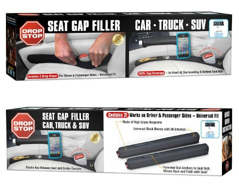 Drop Stop® Seat Gap Filler