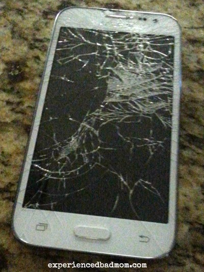 13 Things I Love about my thirteen year old oh the joy of broken cell phones!