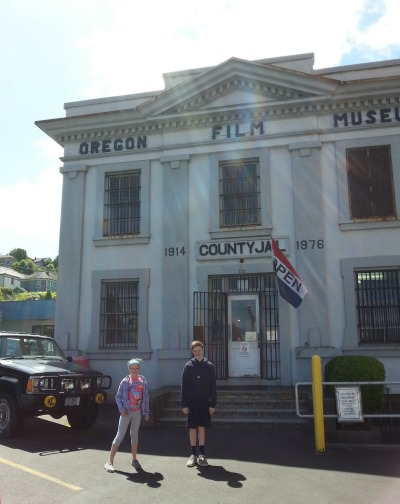 Seen and unseen on our vacation: Astoria Jail from The Goonies