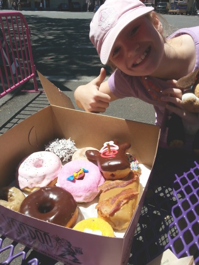 Seen and unseen on our family vacation: Portland's Voodoo Donut