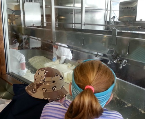 Seen and unseen on our family vacation cheese-making at Pike Place Market