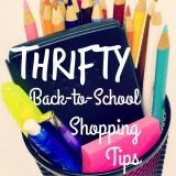 Thrifty back-to-school shopping tips