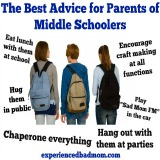 Advice Parents Middle School