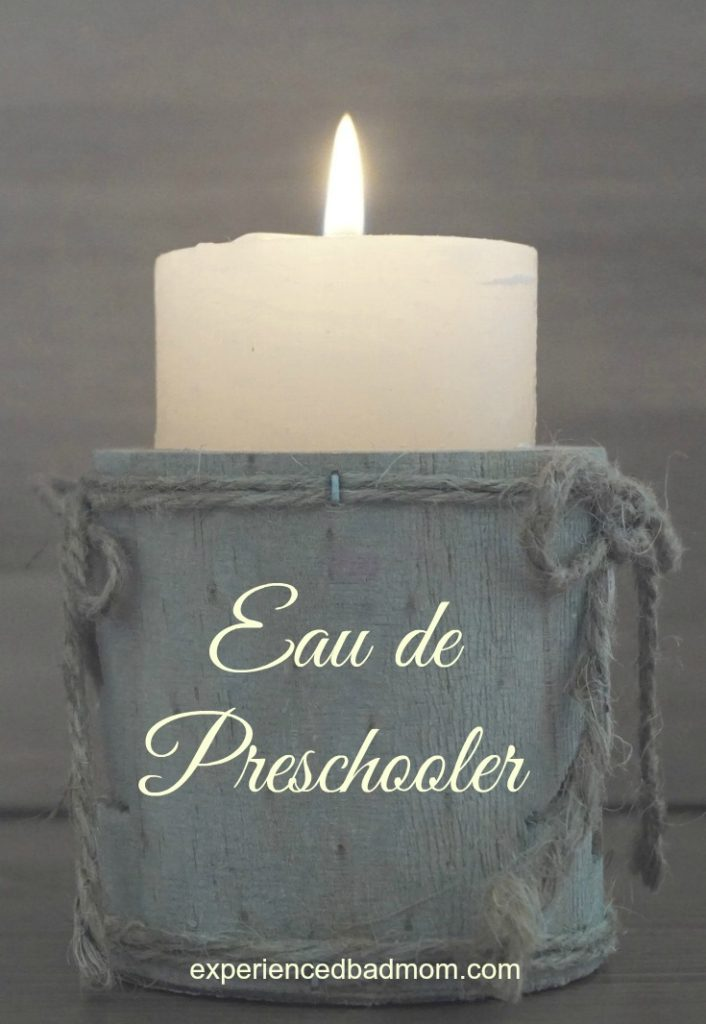 Popular Scented Candles for Moms: Eau de Preschooler