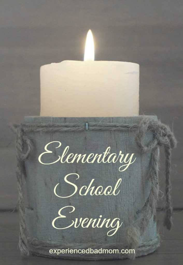 Popular Scented Candles for Moms: Elementary School Evening