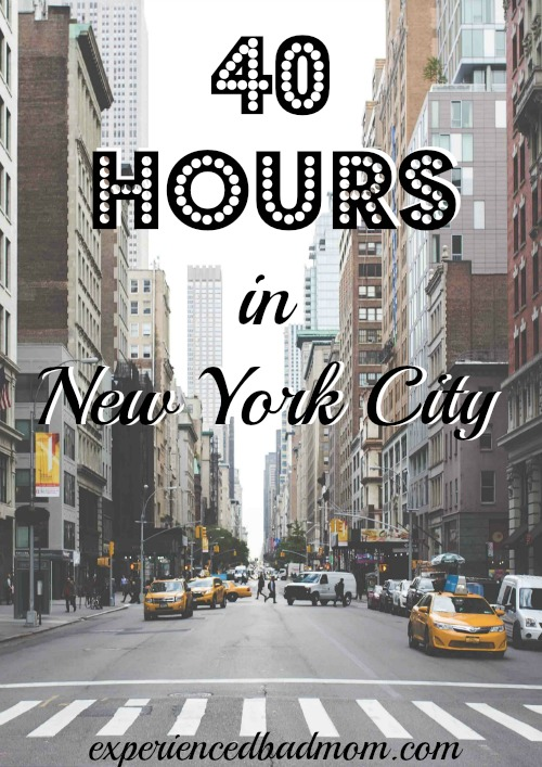 What to do in 40 hours in New York City