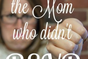 Ode to the Mom Who Didn't RSVP