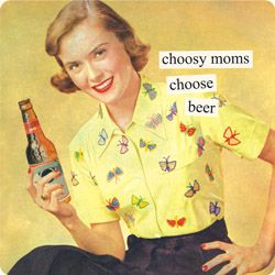 One of my modern day mom confessions? I like beer as much as wine.