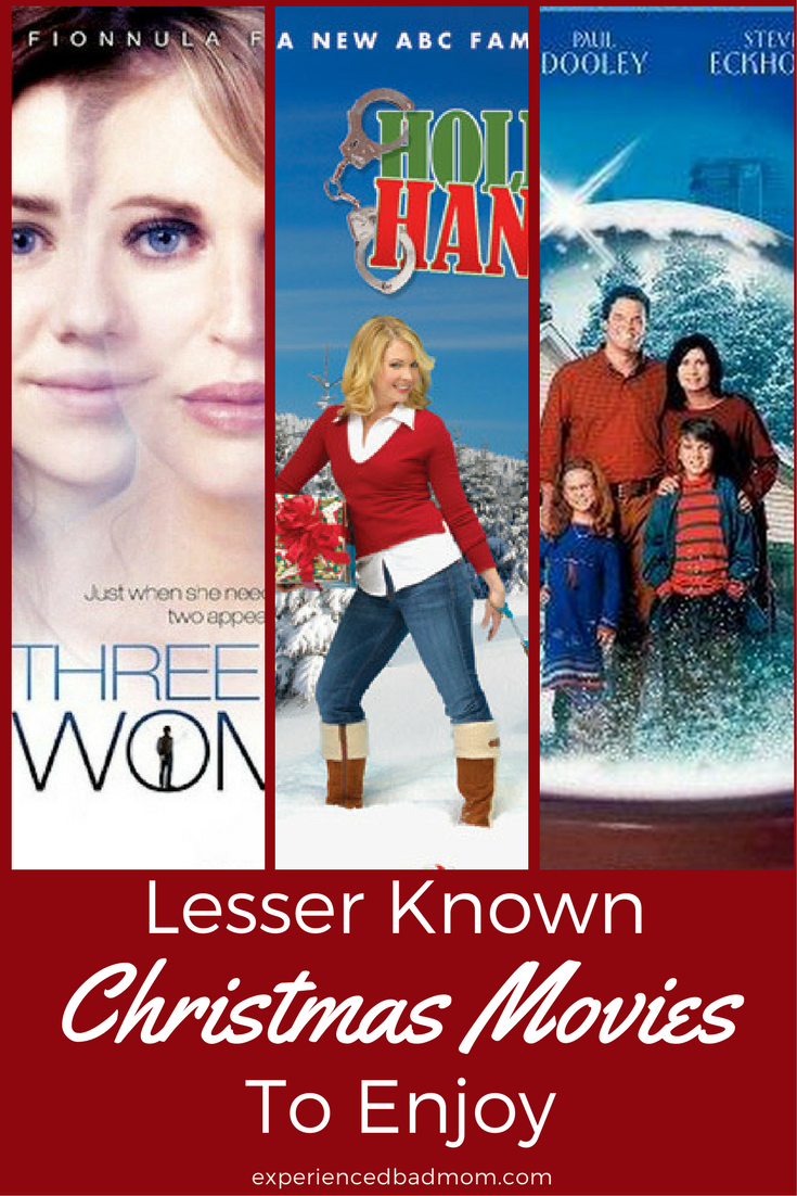 Get in the spirit of the season with these 3 lesser known Christmas movies. These Christmas flicks will fill you with holiday cheer.
