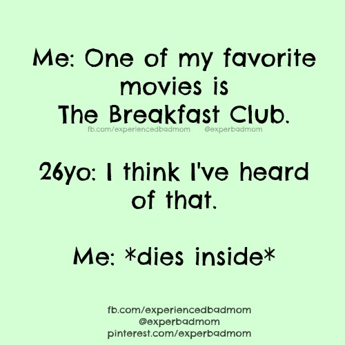 Gen X memes guaranteed to make you laugh, like this one about The Breakfast Club.