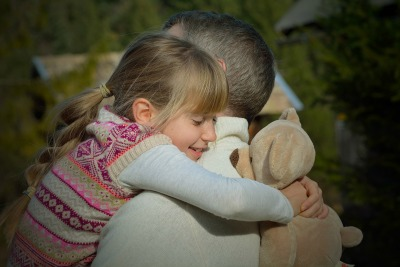 Hug your kids! It's a lazy way to be a better parent.