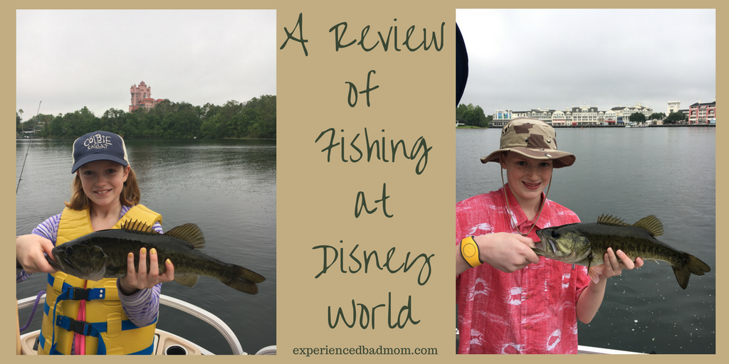 A review of fishing at disney world experienced bad mom for Fishing at disney world
