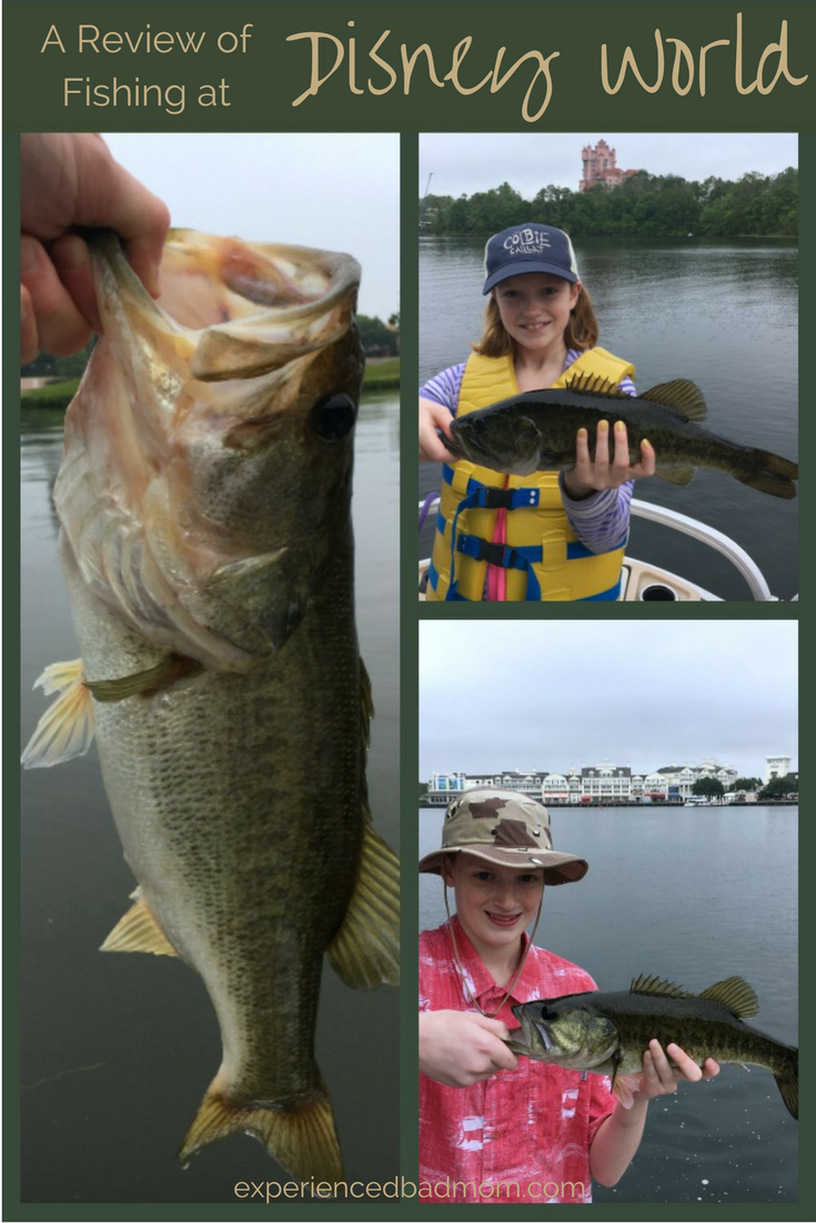 A review of fishing at disney world experienced bad mom for Bass fishing disney world