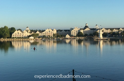 Fishing at Disney World A view of Bayside Marina at Yacht Club
