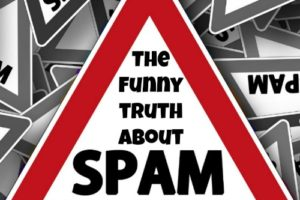 Here's the funny truth about spam messages.