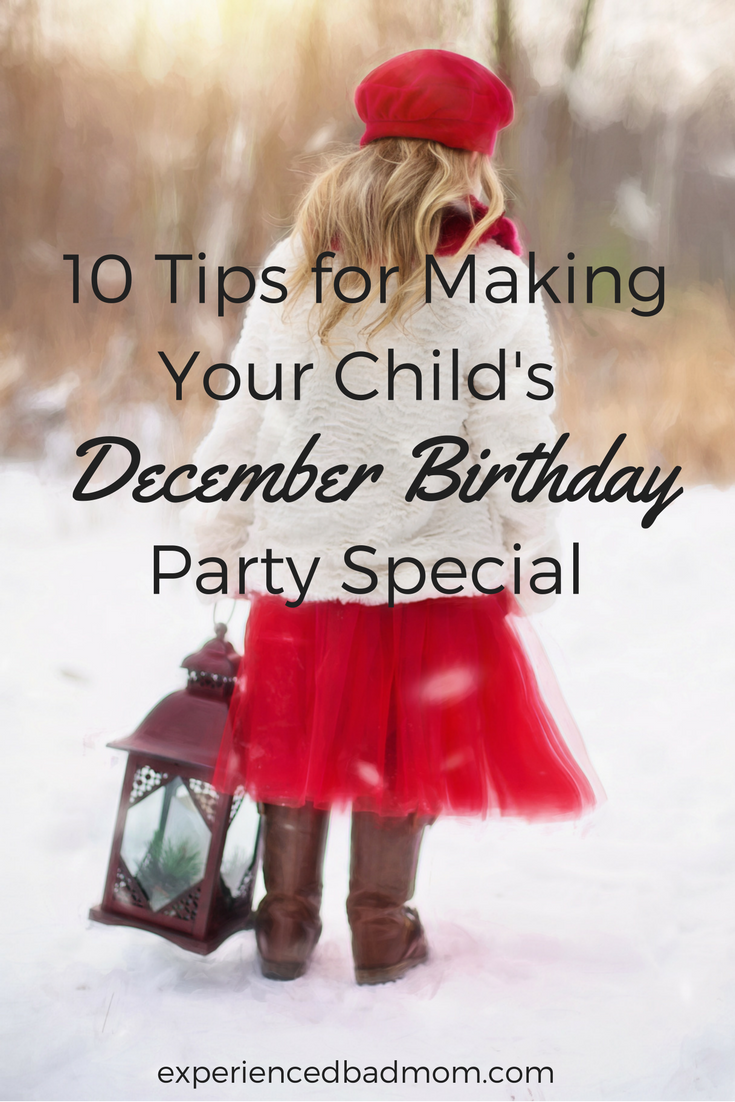 How to Throw a Birthday Party During the Holidays