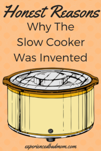 Honest Reasons Why the Slow Cooker was Invented