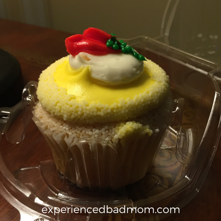 A sweet Disney World treat? The Beauty and the Beast Belle cupcake. Mmmm!