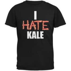 "Here's a fanstastic gift idea for Father's Day. The ""I hate Kale"" shirt sold by Oldglory.com."