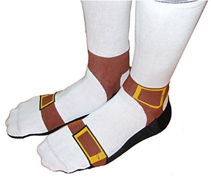 Want a fantastic gift idea for Father's Day? Then check out sandal socks, sure to make the dad in your life laugh!
