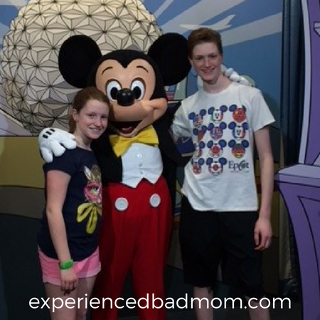 Why is Disney World Tops for Teens? Mickey Mouse, of course!