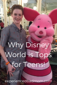 Here's why Disney World is Tops for Teens!