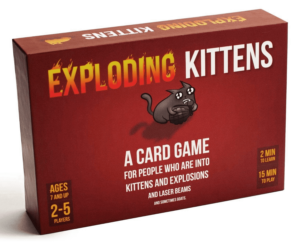 What to get your teen for the holidays? Exploding Kittens looks fun!